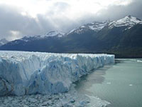 The Perito Mereno Glaciar